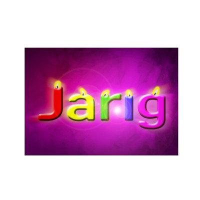 Verjaardag, Jarig
