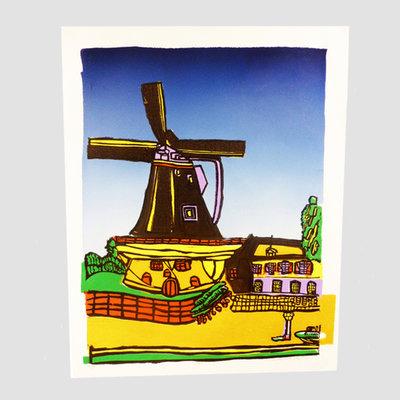 'Molen' van Ruth van der Neut 68x55 cm
