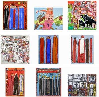 Kunstkaarten set in cadeaublik