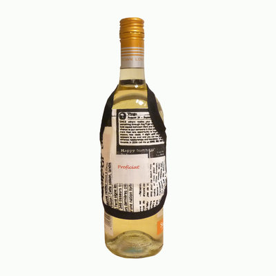 Wijnfles schortje