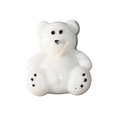 Teddybeer kaarsje