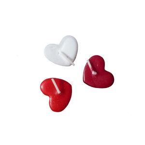 3 Kleine hartjes kaarsjes (ik hou van jou)